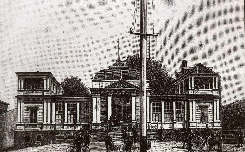 Dom Cyklisty w parku Helenów, po 1912 r.