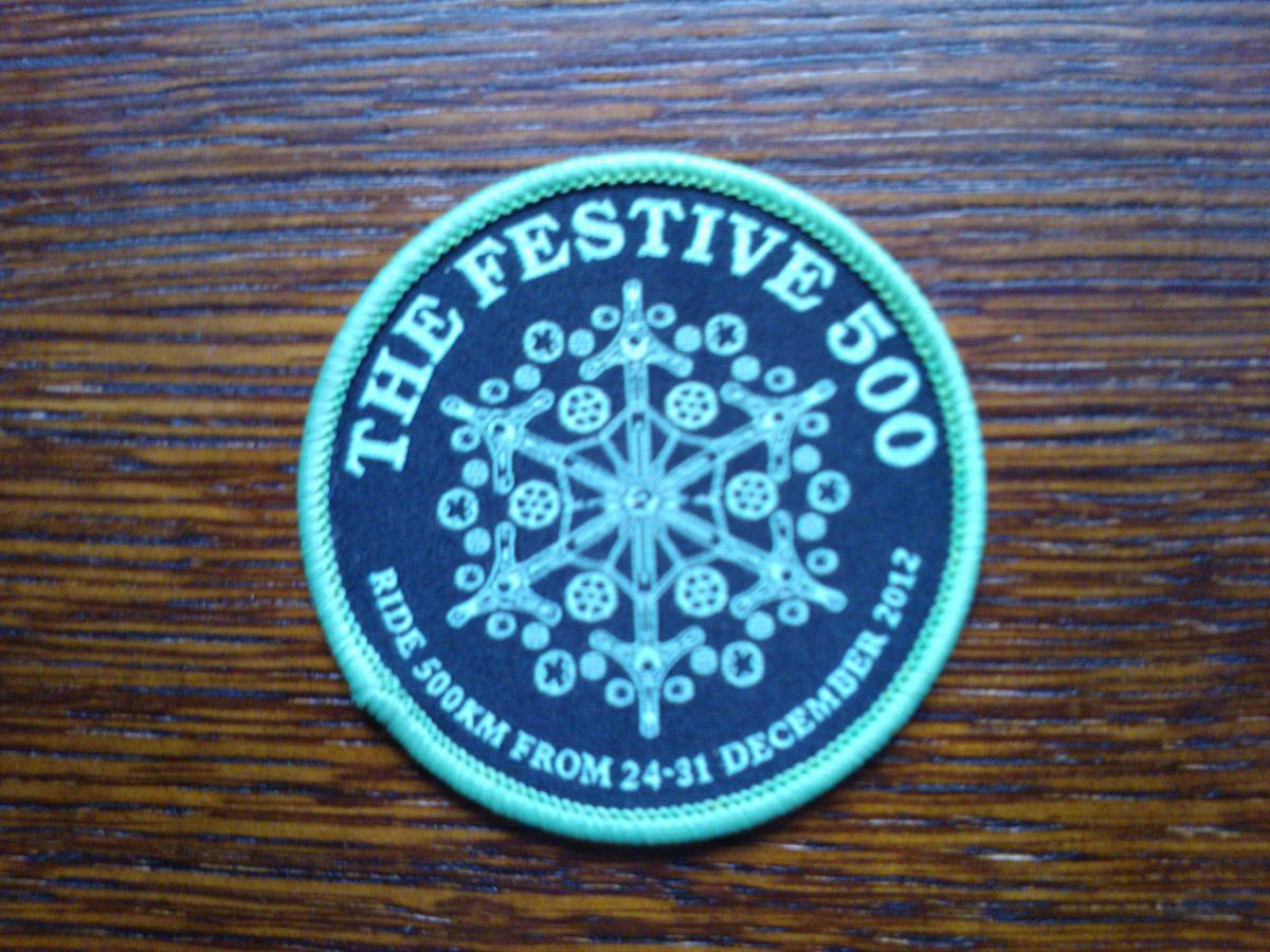 cyklomaniacy-festive500-badge
