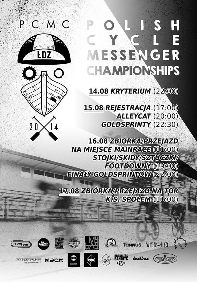 PCMC 2014 Łódź plakat
