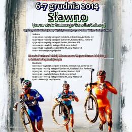Puchar Polski w kolarstiw przełajowym Sławno 2014
