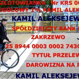 1% Kamil Aleksejew