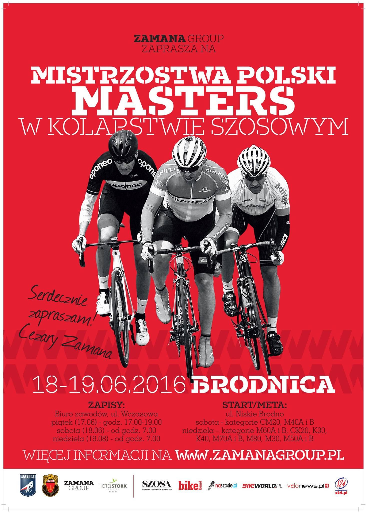 MP Masters Brodnica 2016
