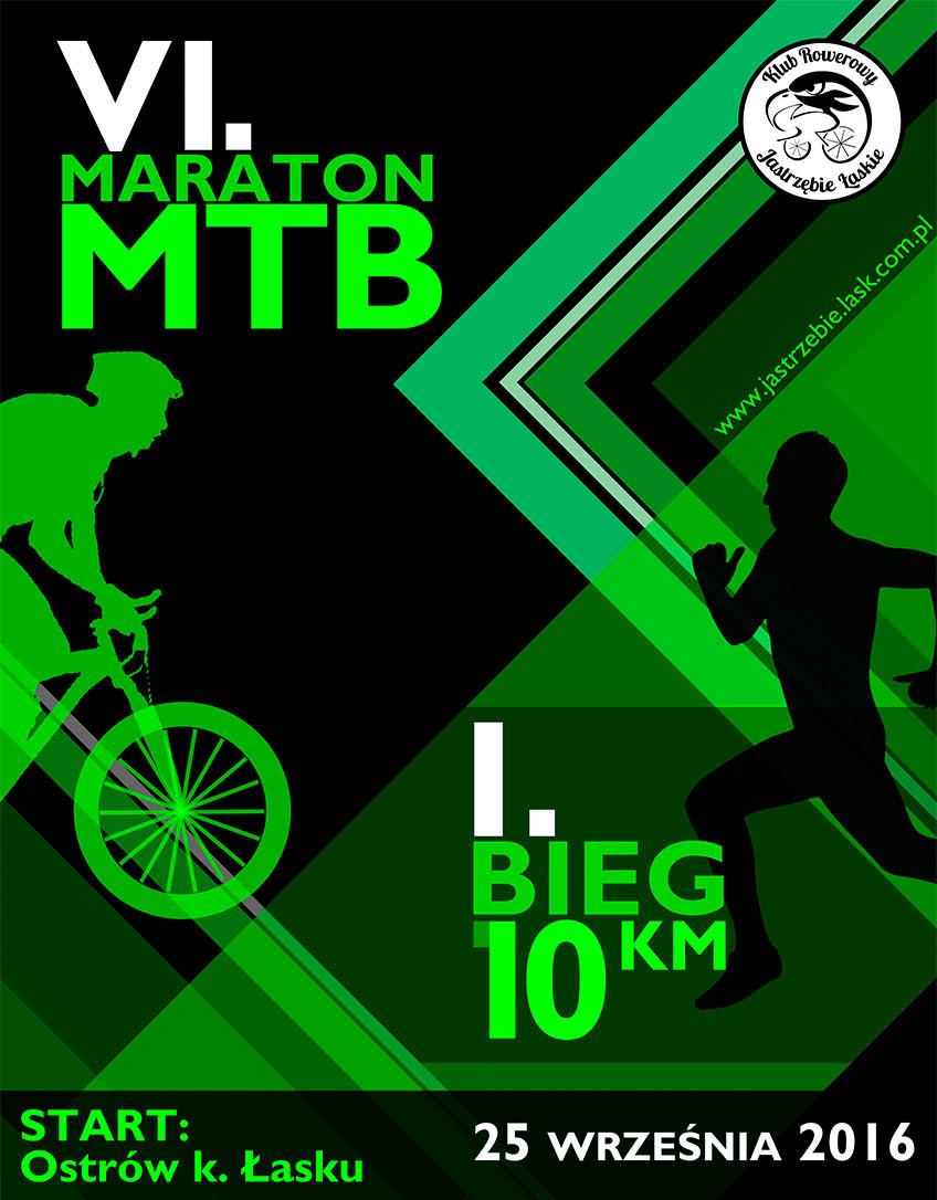 VI Maraton MTB Jastrzębi Łaskich