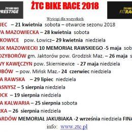 ŻTC Superprestige Kalendarz 2018